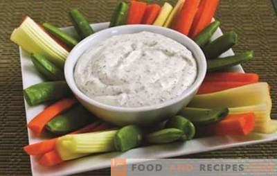 Диетични сосове - богатството на вкуса без вреда на фигурата! Рецепти диетични сосове от кисело мляко, сметана, домати и други зеленчуци