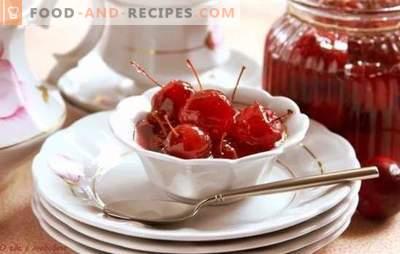 Цели ябълки - рецепти на баба. Тайни и тънкости на готвене ябълки, направени от цели ябълки: прозрачни, кехлибар, джинджифил