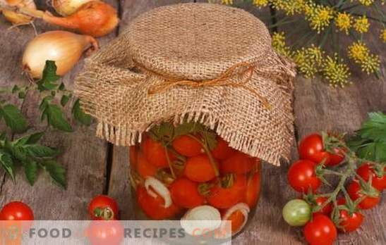 Доматите в желатин за зимата - вкусна красота! Най-лесните и вкусни рецепти за приготвяне на домати в желатин за зимата