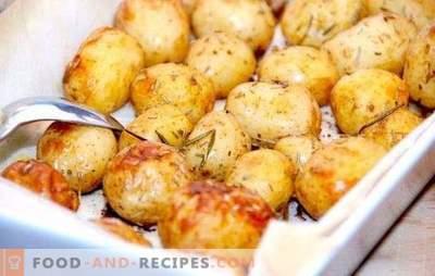 Подправки за картофи: попълнете малко повече! Готвя, запържва, задушава вкусни картофи