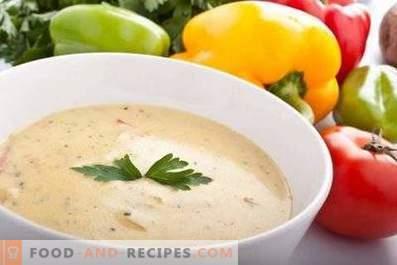 Супа от пюре от боб