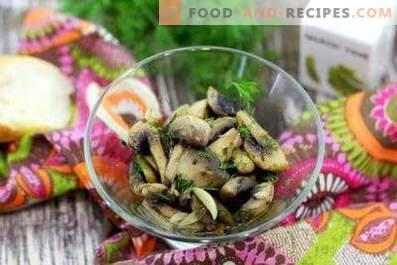 Пържени печурки