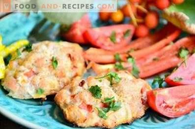 Garnish for chicken cutlets