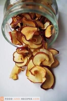 Comment sécher les pommes