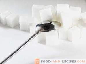 Как да съхранявате захар