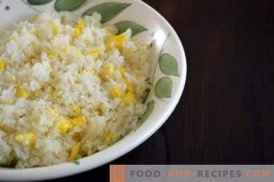 Пълнеж за пайове с яйца и ориз