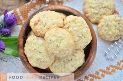 Бисквити от стафиди от овесени ядки