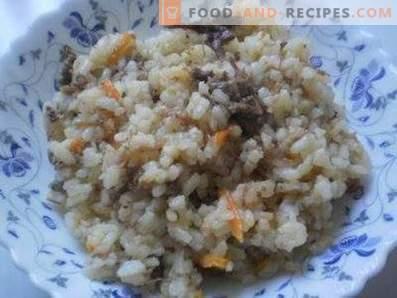 Ориз с яхния в тенджера