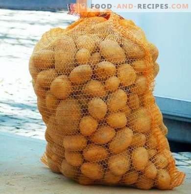 Как да съхранявате картофи