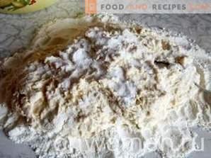 Кнедли със сирене на кефир