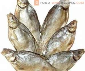 Как да съхранявате сушена риба
