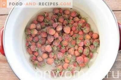 Как се прави компот от замразени плодове
