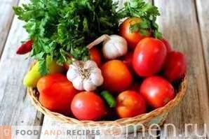 Eingelegte Tomaten mit Apfelessig