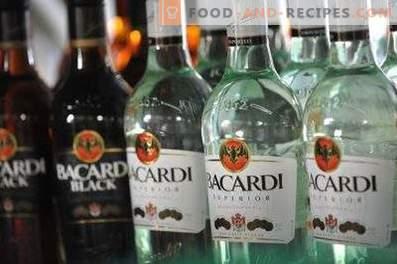 Как се пие ром Bacardi