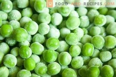 Замразяване на зеленчуци