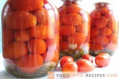 Мариновани домати за зимата