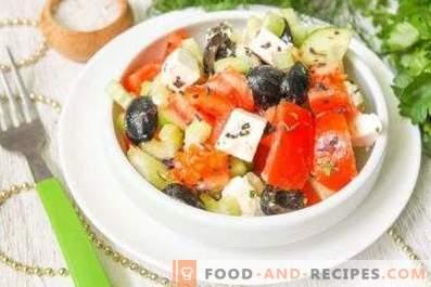 Гръцки салатни дресини