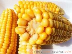 Как да замразите царевицата за зимата