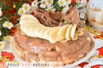 Бисквити с плодове и шоколад в бавен котлон