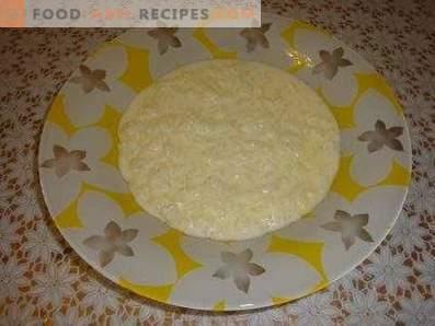 Овесена овесена каша с мляко в бавно печка