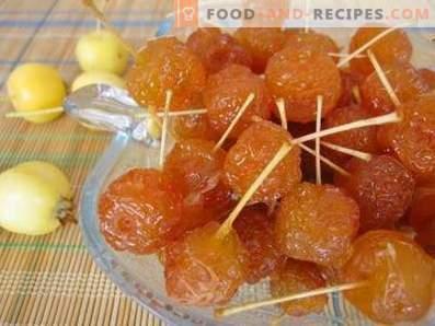 Ябълки на захаросани паради
