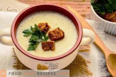 Супа от пюре от лук порей