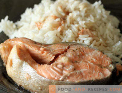Гарнитура за червена риба