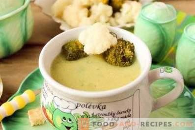 Супа от пюре от карфиол