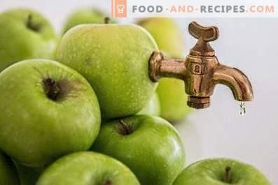 Ябълков сок: ползи и вреда