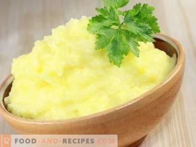Как се правят картофено пюре