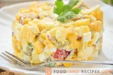 Германска картофена салата с наденица