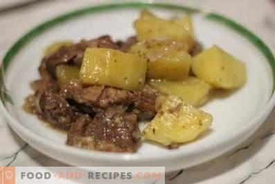 Яхния с картофи
