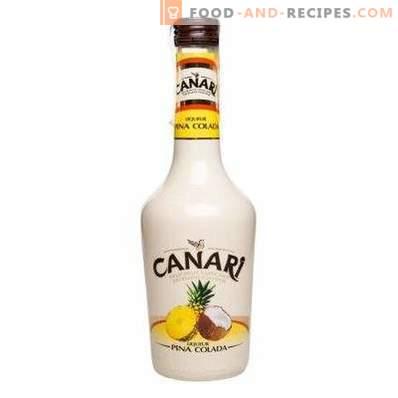 Как да пием ликьор Пина колада