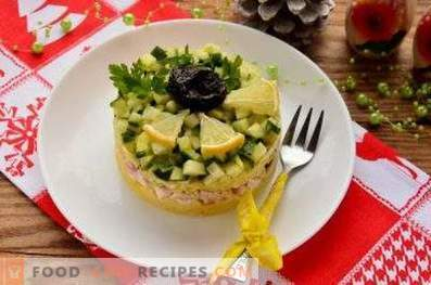 Салати от пиле и сливи