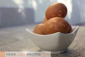 Как да сварите яйцата