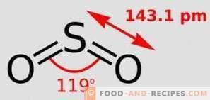 Серен диоксид Е220: въздействие върху тялото