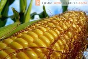 Калоричност на царевицата