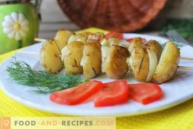 Кебаби от картофи във фурната