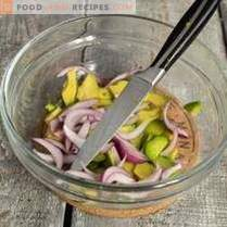 Лека салата от авокадо