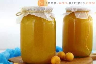 Aprikosensaft für den Winter
