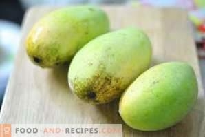 Как се съхранява манго