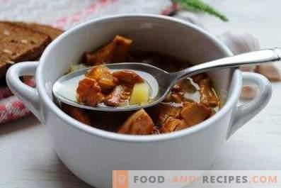 Супа с пачи крак