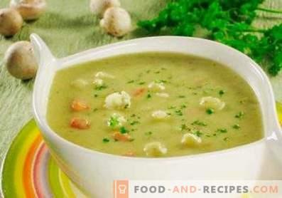 Супа от тиквички и карфиол