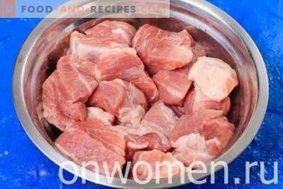 Свински шашлик във фурната
