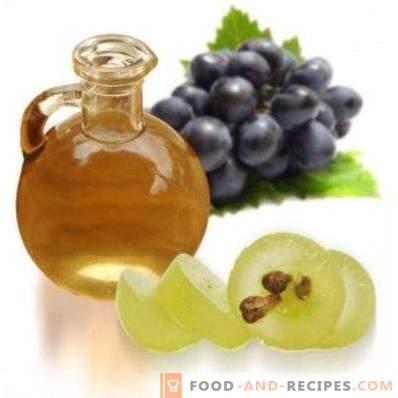 Масло от гроздови семена: свойства и употреби