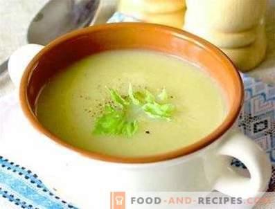 Супа от пюре от целина