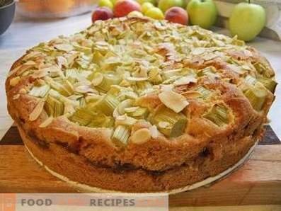 Торта на ревен