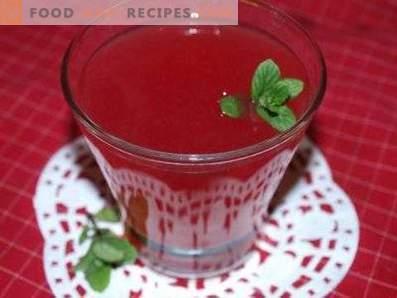 Киселина от червена боровинка