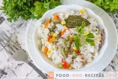 Ориз за гарнитура в бавен котлон