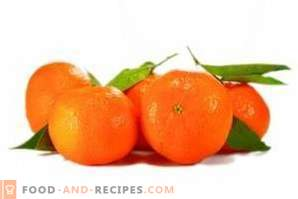 Как да съхранявате мандарини